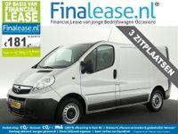 Opel Vivaro - 2.0 CDTI L1H1 ECOFLEX Airco Cruisecontrol 3 Persoons Metallic Elektrpakket