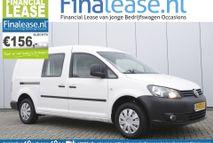 Volkswagen Caddy Maxi - 1.6 TDI L2H1 Airco Cruisecontrol Navigatie Schuifdeur Trekhaak Elektrpakket Lat-om-Lat