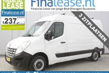 Renault Master - T33 2.3 DCI L2H2 3 Persoons Airco Cruisecontrol Elekramen Trekhaak